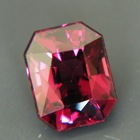 red and purple spinel without treatments