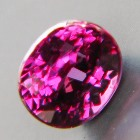 color change garnet purple to pink in full size and clarity