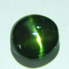 rarest untreated natural chrome diopside cat's eye
