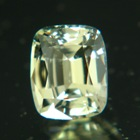 Silvery mint olive Ceylon sapphire