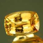 fine shiny orange hessonite from Sri Lanka