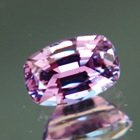Lively pastel purple Ceylon sapphire