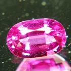 fine purple red ceylon ruby without treatments