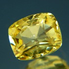 Intense canary yellow Ceylon sapphire