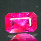 emerald shaped no heat ruby from east africa GIA and IGI report