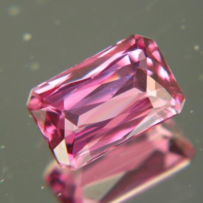 Pastel purple pink Ceylon sapphire