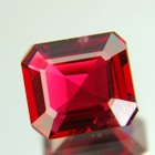 Deep crimson red Ceylon spinel