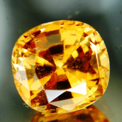 rare yellow giant grossular garnet