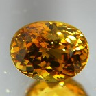 mali garnet over three carat clean and sparkly