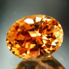 Golden orange Mozambique tourmaline