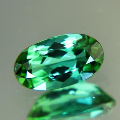 Dense blue green Afghani tourmaline