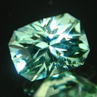 tourmaline free of treatments, princess precision cut, eye-clean over one carat with IGI report