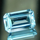 unheated Zimbabwe Aquamarine in deep blue
