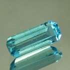 Green-blue Aquamarine rectangular
