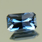Deep steel blue Ceylon spinel
