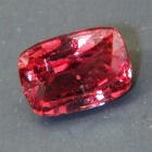 light pink oval cushion cut extra-brilliant sapphire from Ceylon, unheated and natural, no window, I