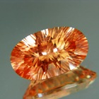 Mild sunset orange Oregon sunstone
