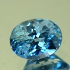 Intense iceberg green blue Montana sapphire