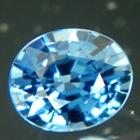 marine blue no-heat sapphire