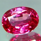 Cherry red Ceylon spinel