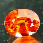 nigerian full size red orange spessartite