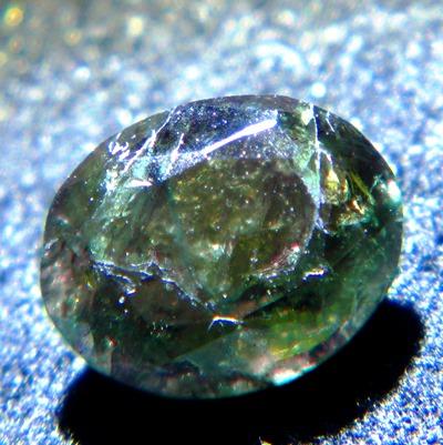 100% color change alexandrite with IGI report under one carat