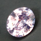 pink unheated sapphire from Sri Lanka