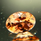 Sunset orange Mozambique tourmaline