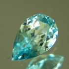 Light blue Australian Zircon.