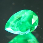 zimbabwe emerald pear 75 points oil-only with matching pair