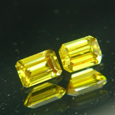 Lemon yellow Pakistani titanite