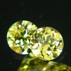 pair brilliant mali garnets for studs
