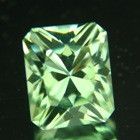 6.5 carat precision cut mint tourmaline