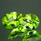 Arizona Peridots - USA untreated certified pair