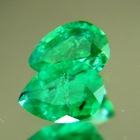 pair round zimbabwe emeralds brilliant cut