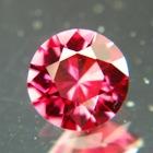 Rose red pink Ceylon spinel
