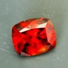 hessonite without treatments DSEF report and best cutting in deep red