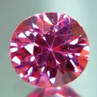 Lively purplish red Burmese spinel