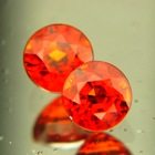 Deep reddish orange Spessartite