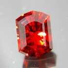 spessartite garnet free of treatments, no window, no inclusions