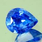 pear shaped color shape sapphire unheated