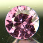 Pinkish purple violet African spinel