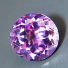 three carat amethyst unheated from Brazil