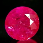 round unheated Burma ruby