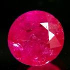 round unheated Burma ruby