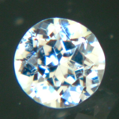 unheated white sapphire in brilliant round 20 points