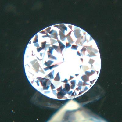 US cut sapphire no heat green blue violet tint