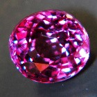 color-change garnet purple to pink in full size and extra clarity