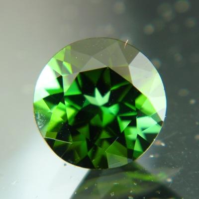 Deep mint green Afghani tourmaline