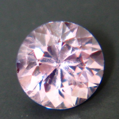 IGI certified pink unheated sapphire in diamond stile and cut and size